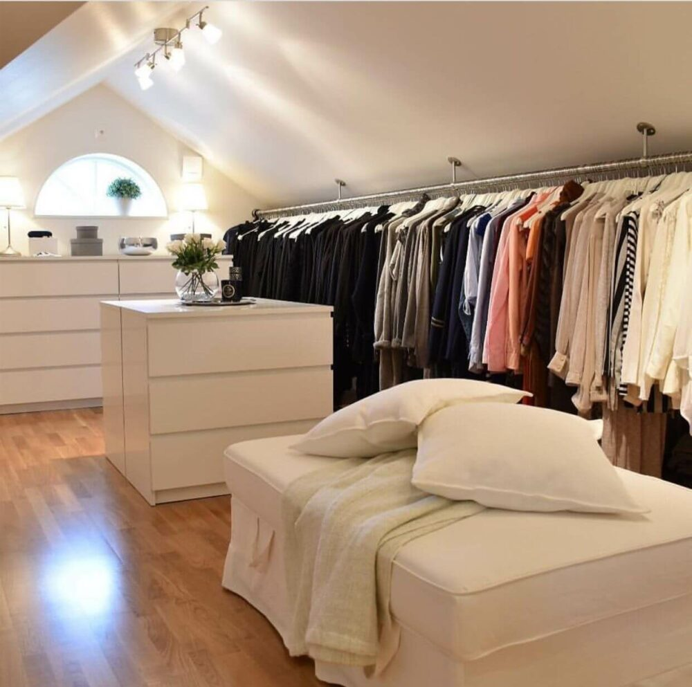 attic bedroom closet ideas