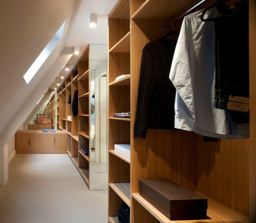 attic closet designs