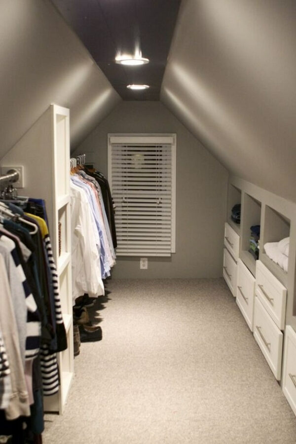 attic closet organization ideas