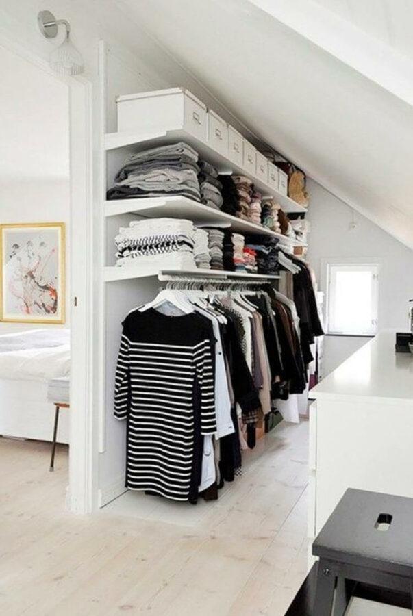 attic closet storage