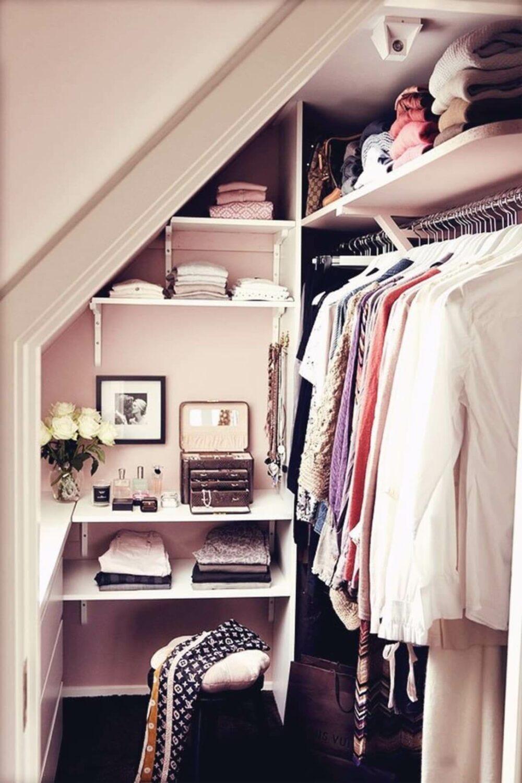 attic room closet