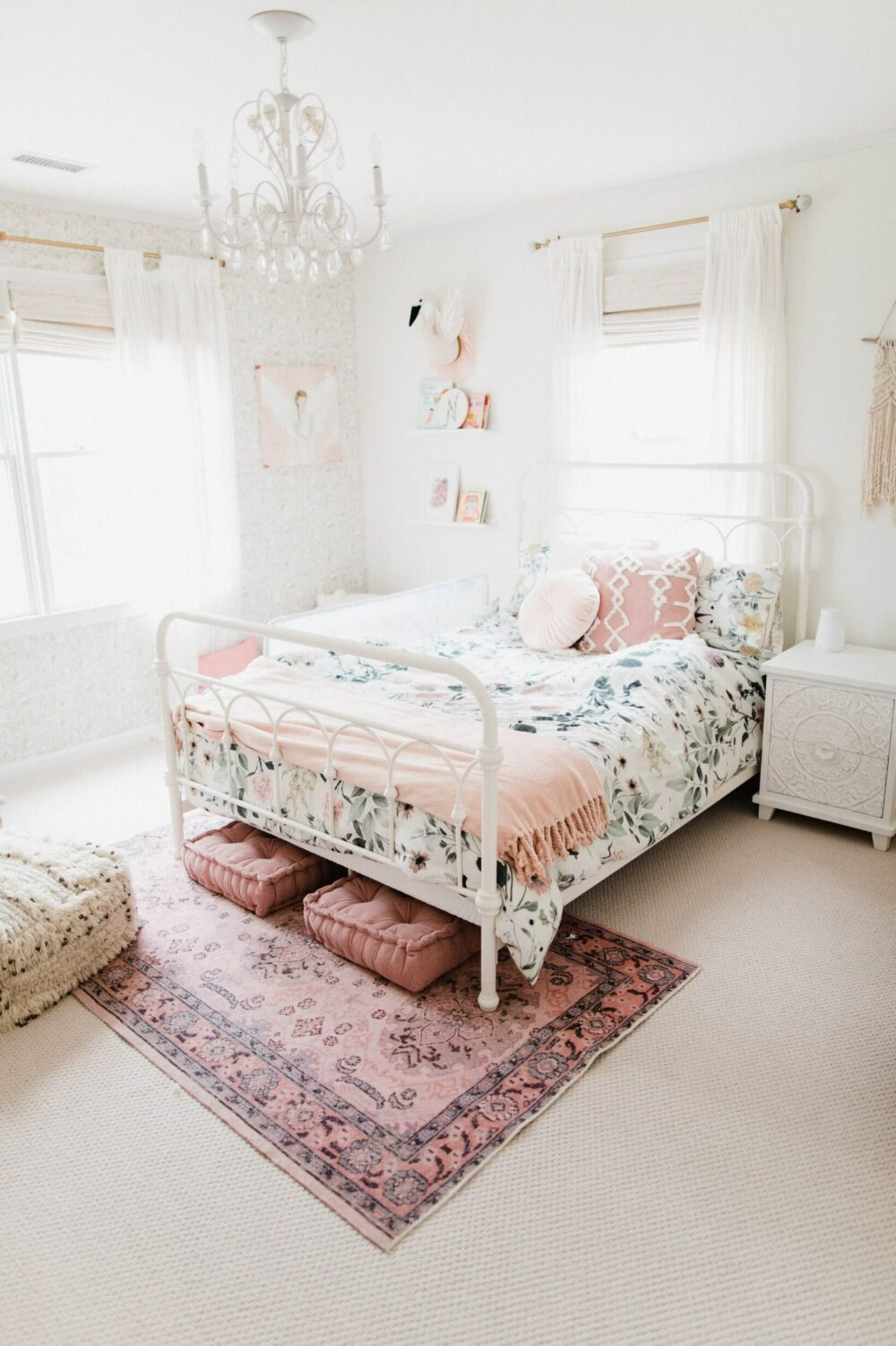 bedroom wall to wall carpet ideas