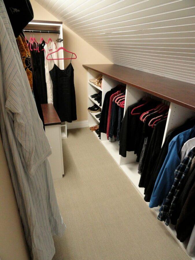 closet for attic