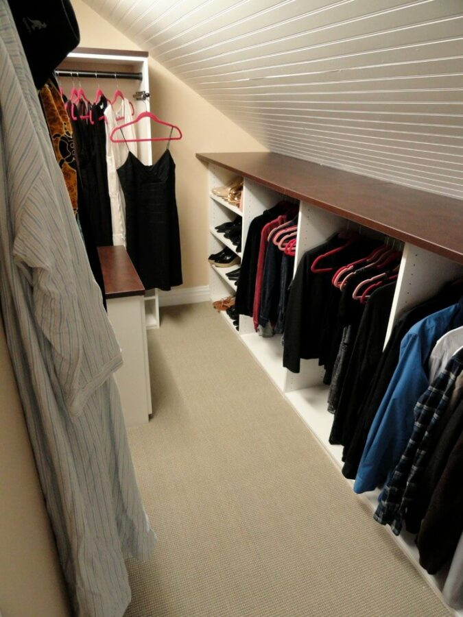 closet for attic