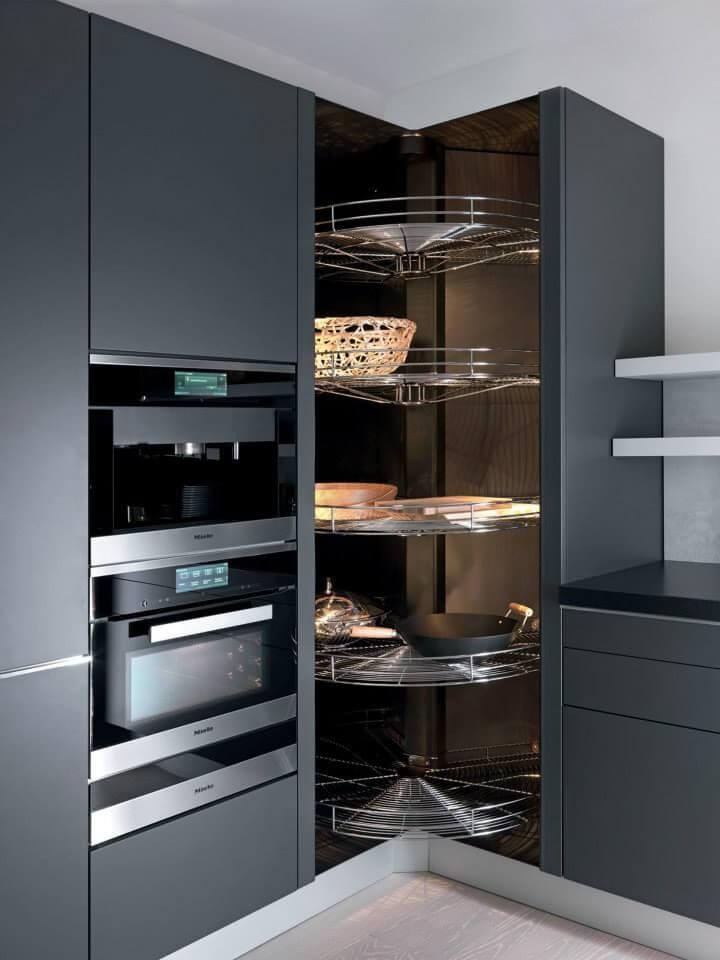 corner kitchen cabinet lazy susan