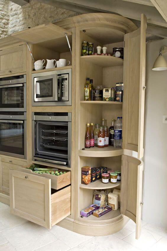 corner kitchen cabinet pantry