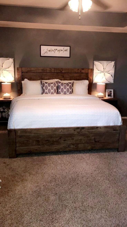 dark brown carpet bedroom ideas