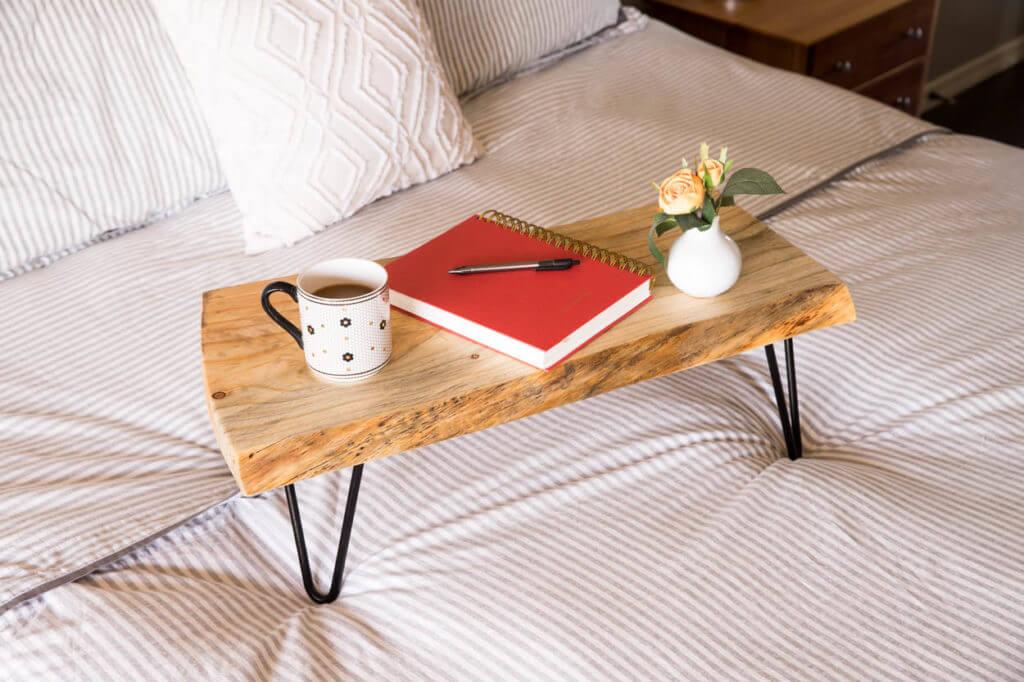 diy cardboard lap desk