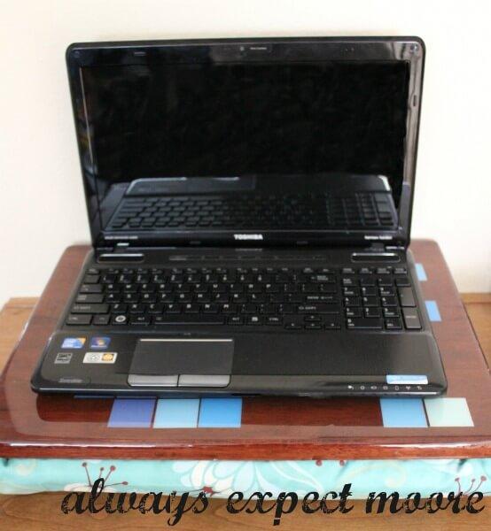 diy folding lap desk plans
