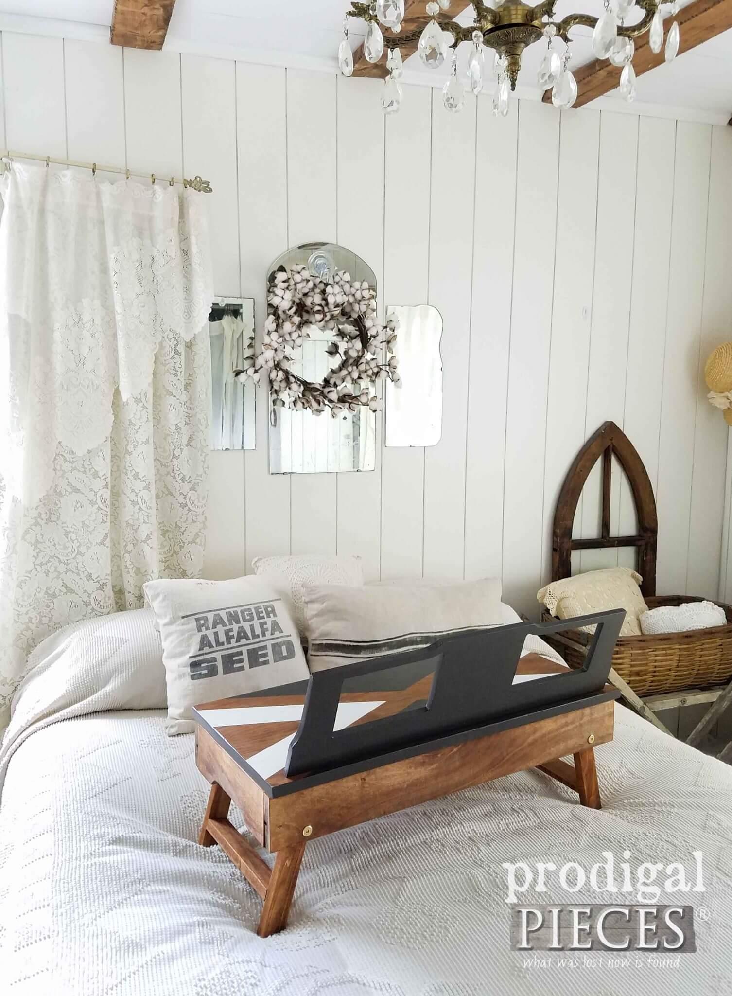 diy lap desk with pillow
