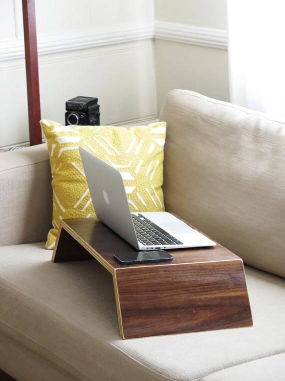 diy lap desk wood