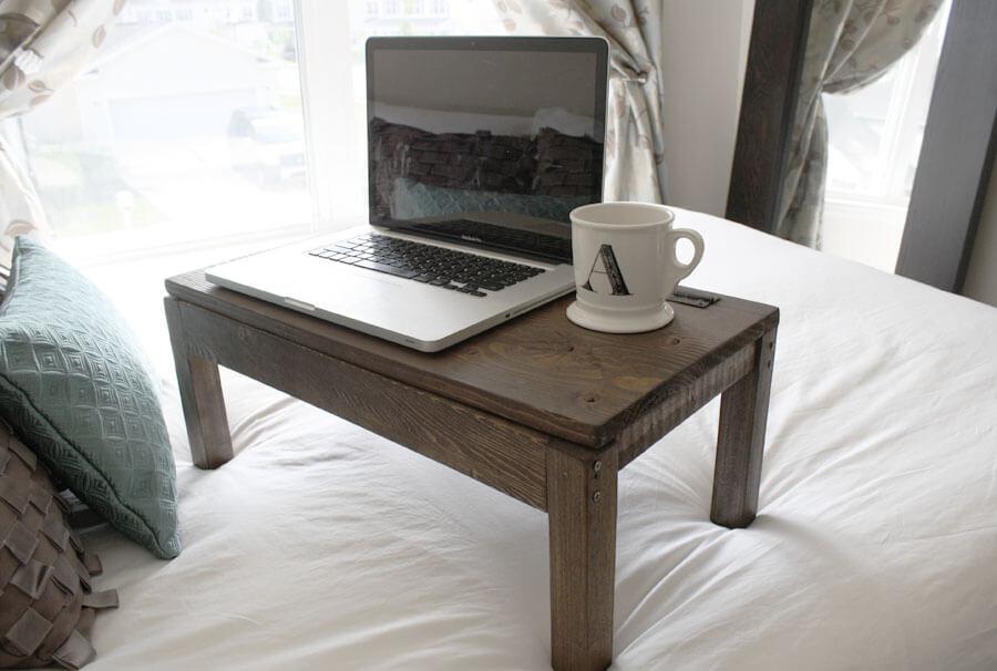 diy wooden lap desk