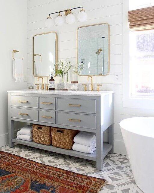 double sink bathroom vanity ideas