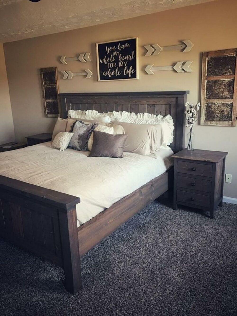 grey carpet bedroom decor ideas