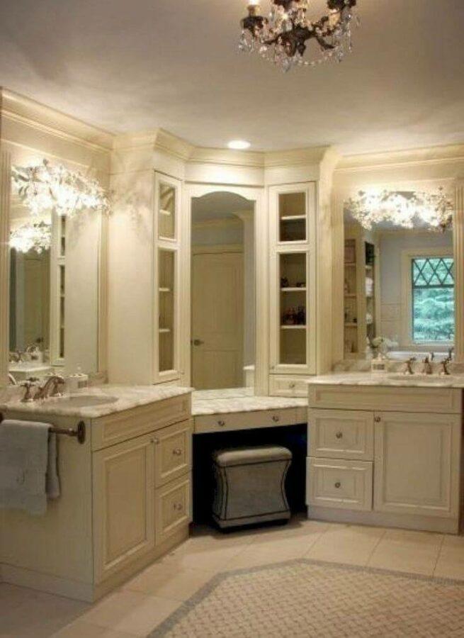 narrow bathroom vanity ideas