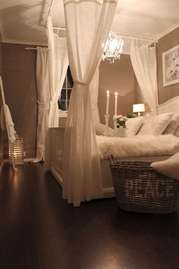 romantic ideas in bedroom