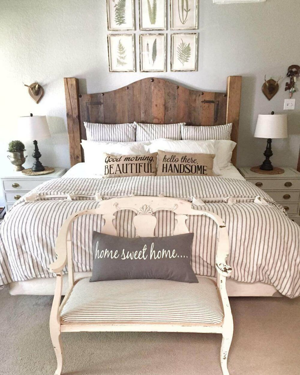 romantic rustic bedroom ideas