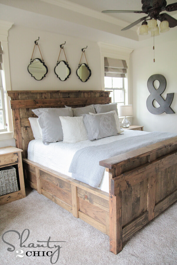 rustic bedroom furniture ideas