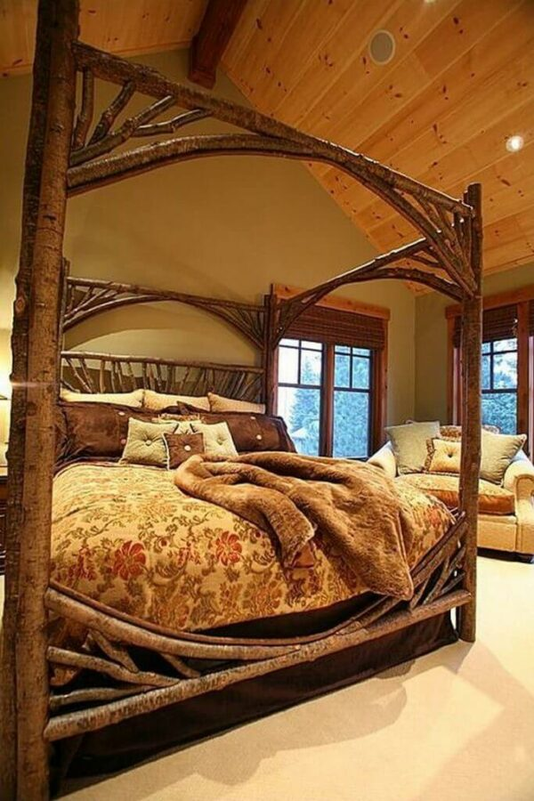 rustic chic bedroom ideas