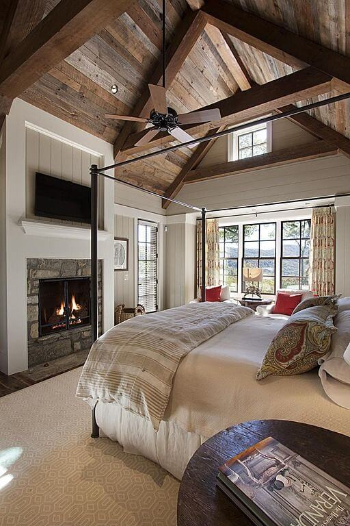 rustic ideas for bedroom