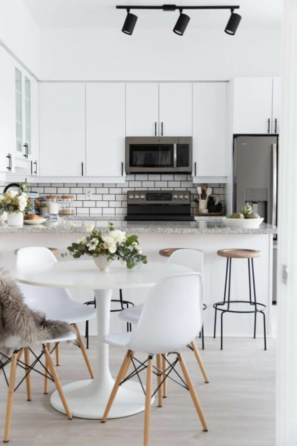 small kitchen table rectangle