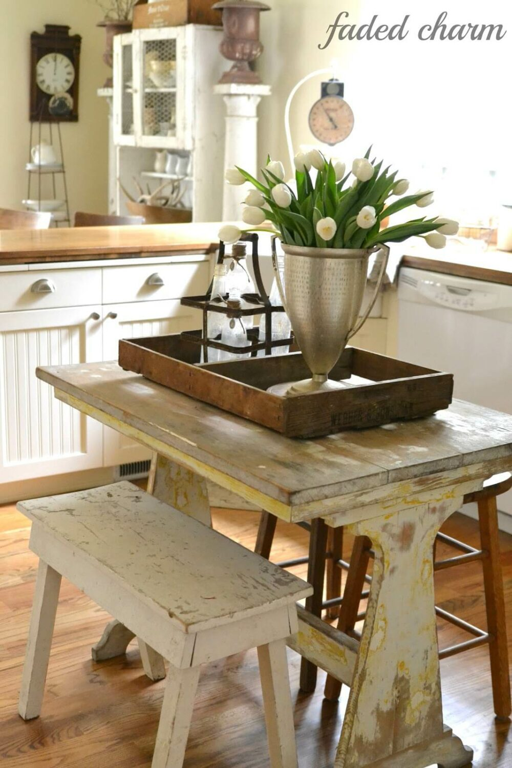 small kitchen table rustic