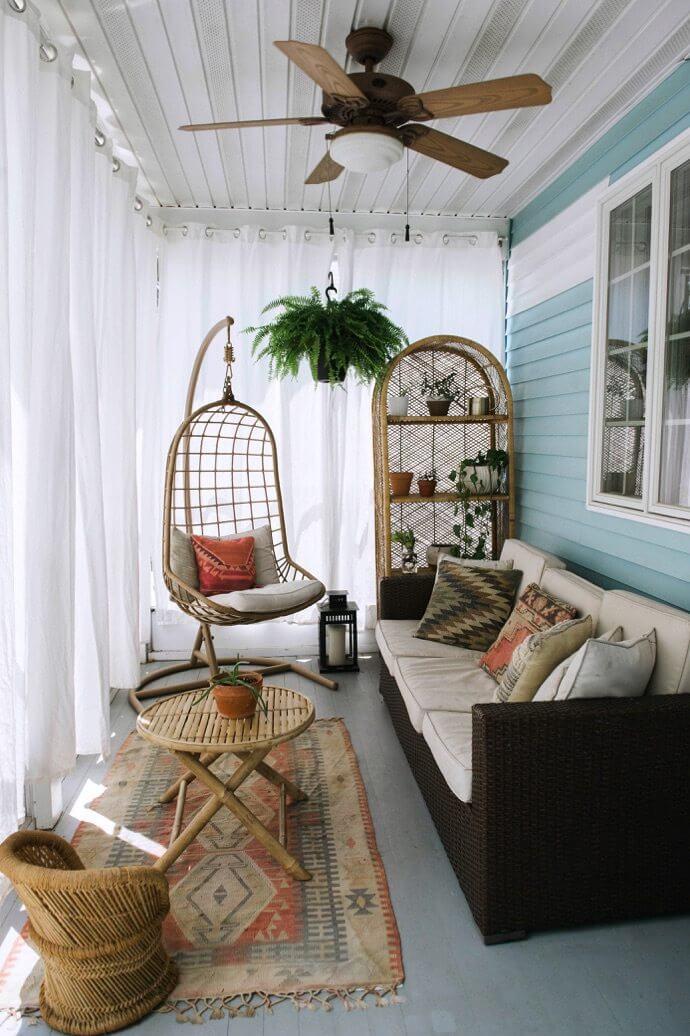 sunroom seating ideas