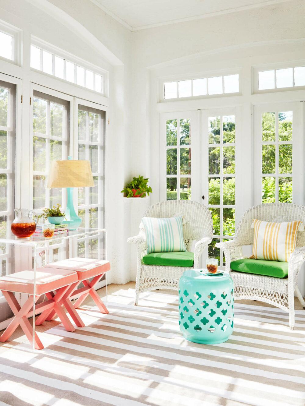sunroom window ideas