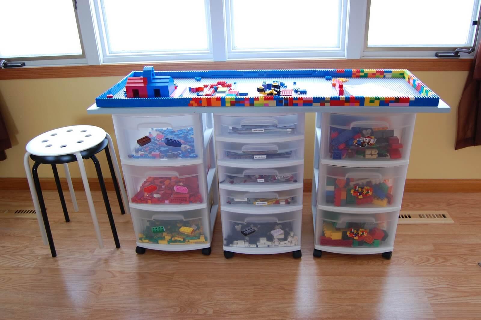 A Lego Birthday Creation