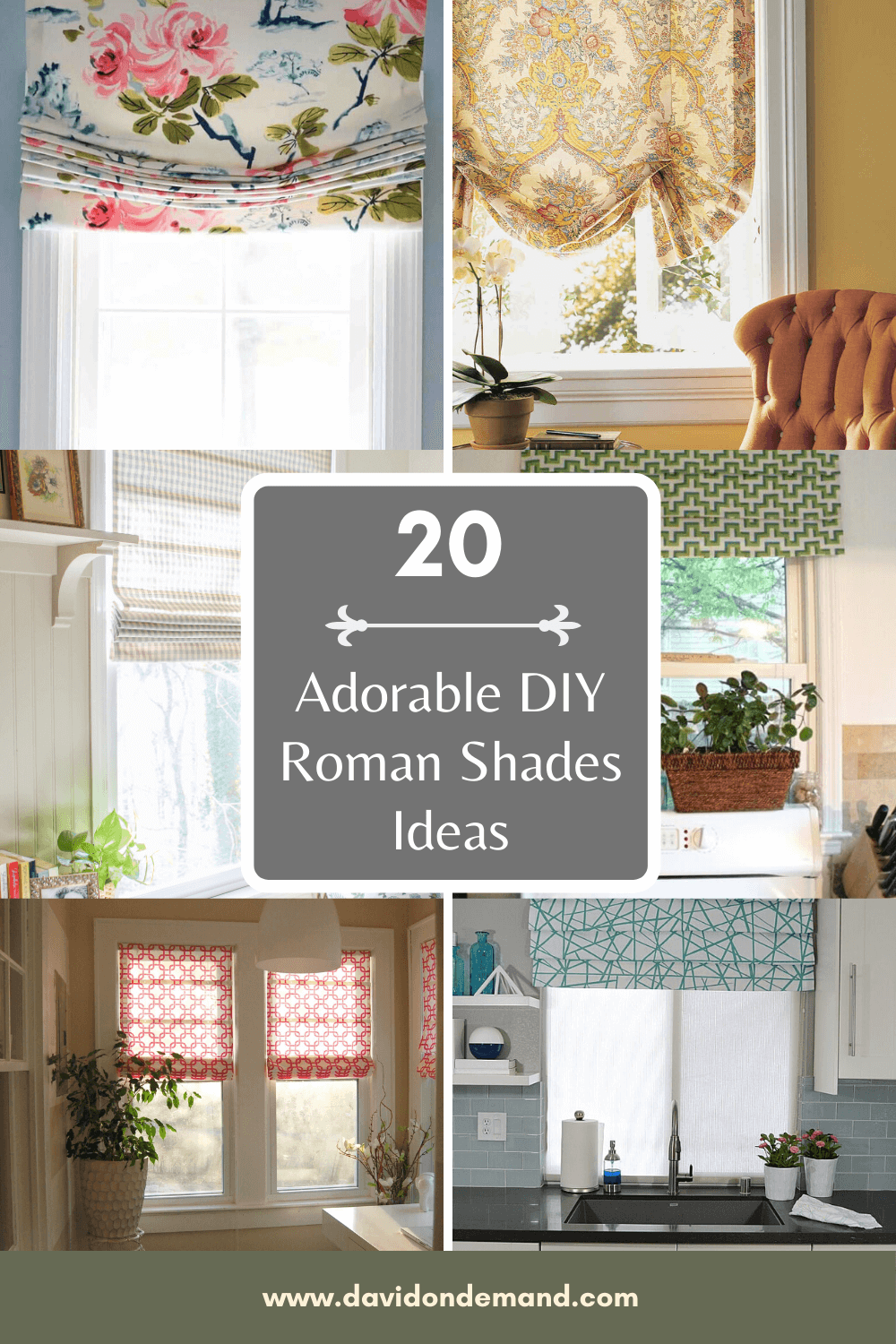 20 Adorable Diy Roman Shades Ideas Spruce Up Your Room David On Blog