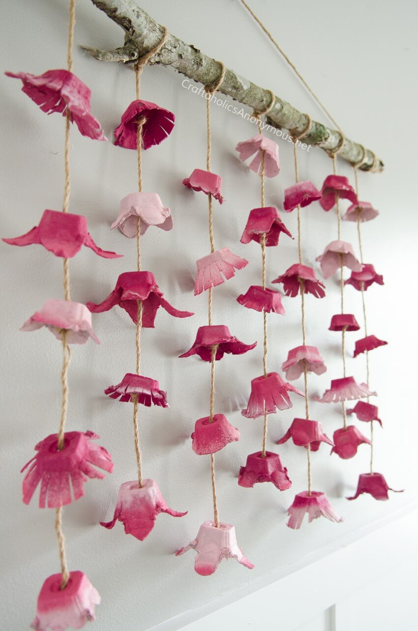 Boho Flower Wall Hanging