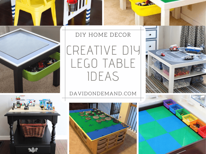 Creative DIY Lego Table Ideas