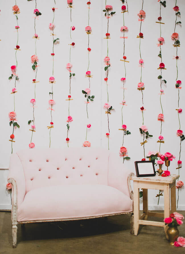 DIY Flower Wall Pictures
