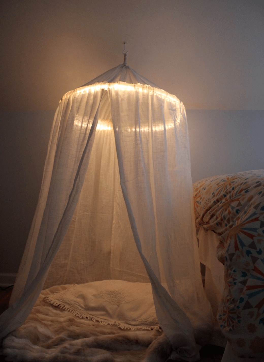 DIY Hula Hoop Canopy