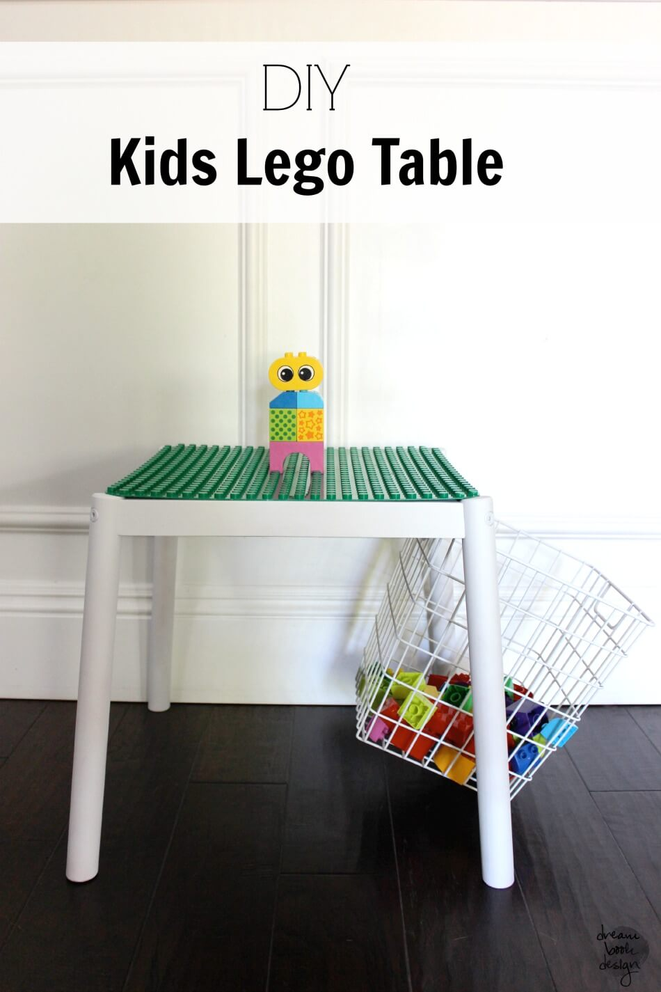 DIY Kids Lego Table