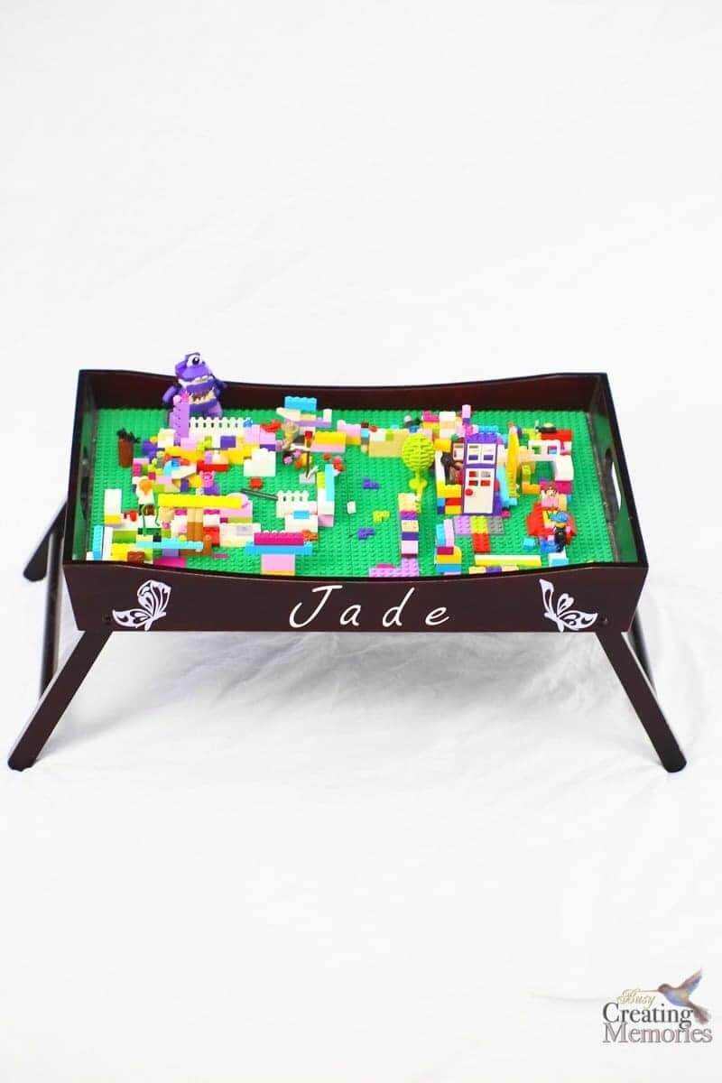 DIY Lego Tray Table