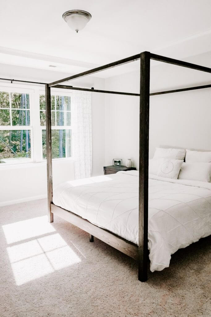 Diy Canopy With Lights Bed