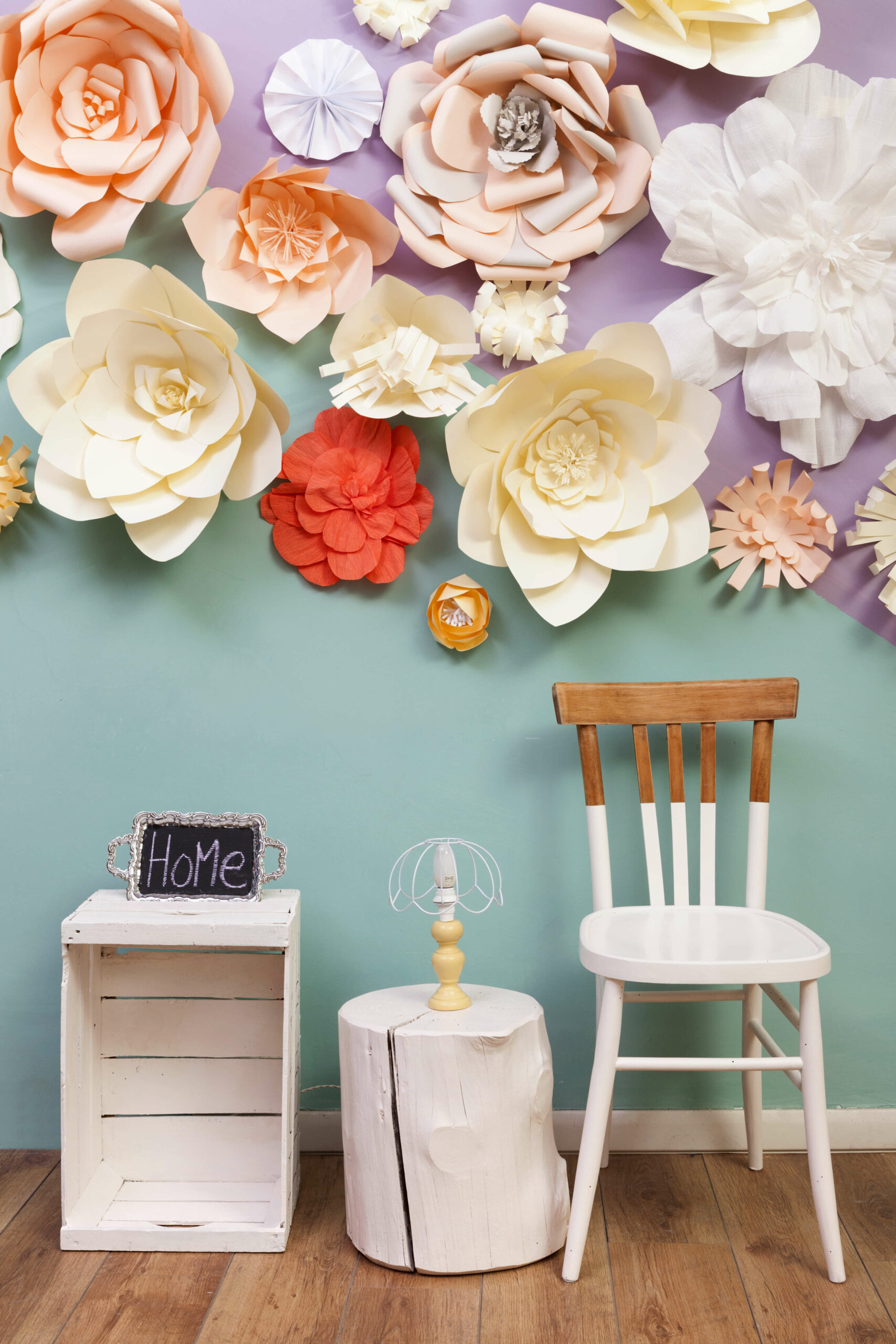 Diy Hang Paper Flowers