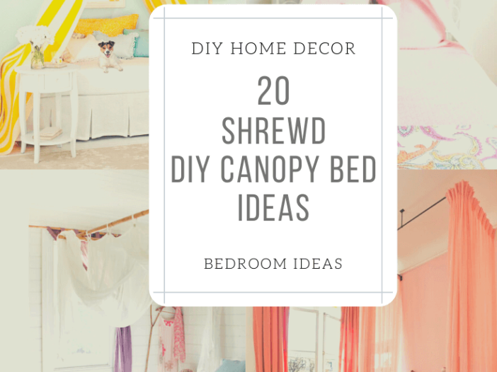 Easy DIY Canopy Bed Ideas
