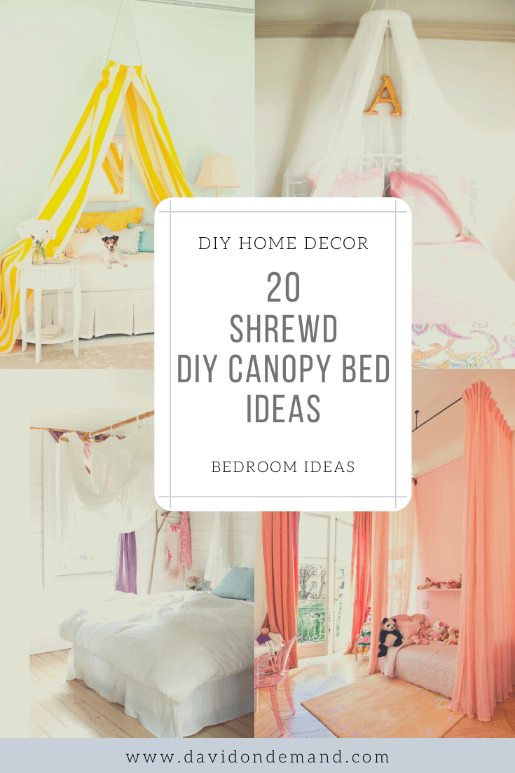 20 Amazing Diy Canopy Bed Ideas Redefine Your Bedroom David On Blog