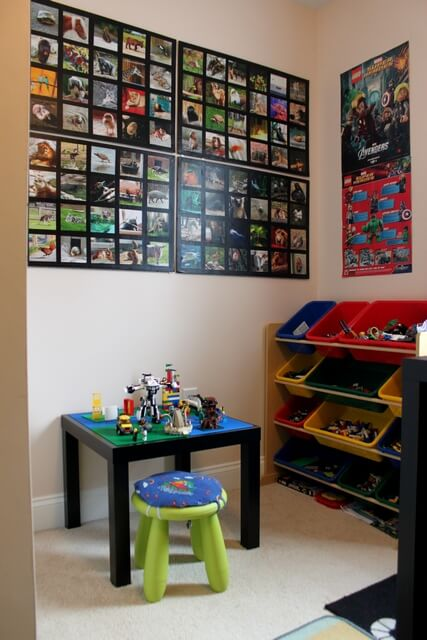 Ikea Side Table to Lego Table