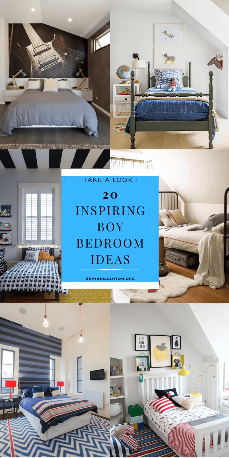 Inspiring Boy Bedroom Ideas