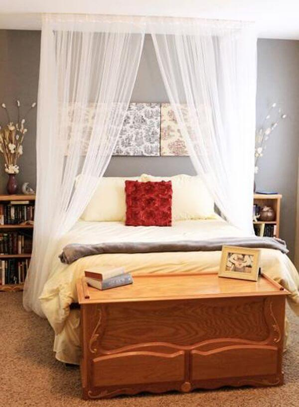 Romantic DIY Bed Canopies