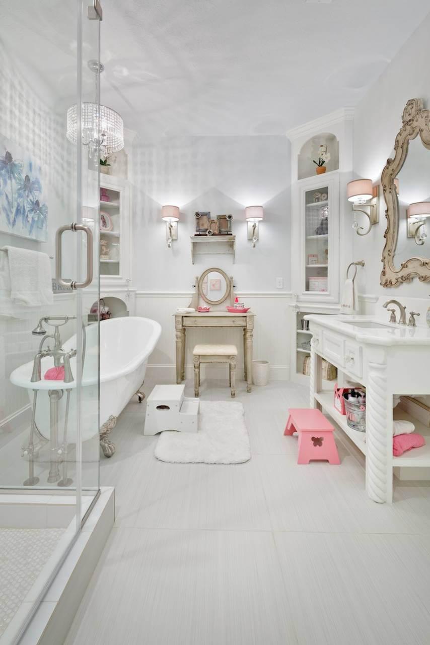 american girl ideas bathroom
