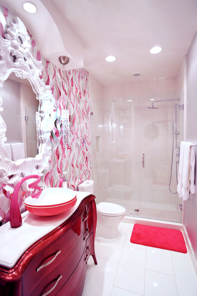 bathroom ideas for little girl