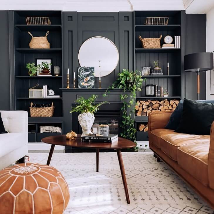 black and cream living room ideas