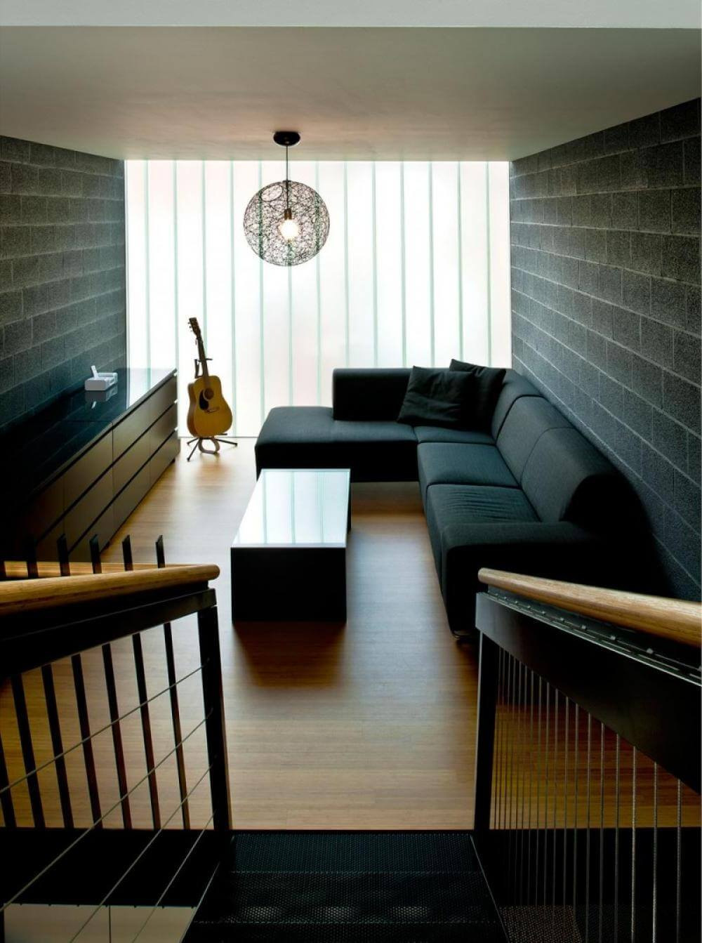 black couch living room ideas