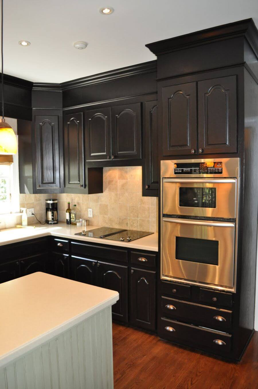 black kitchen cabinet knobs
