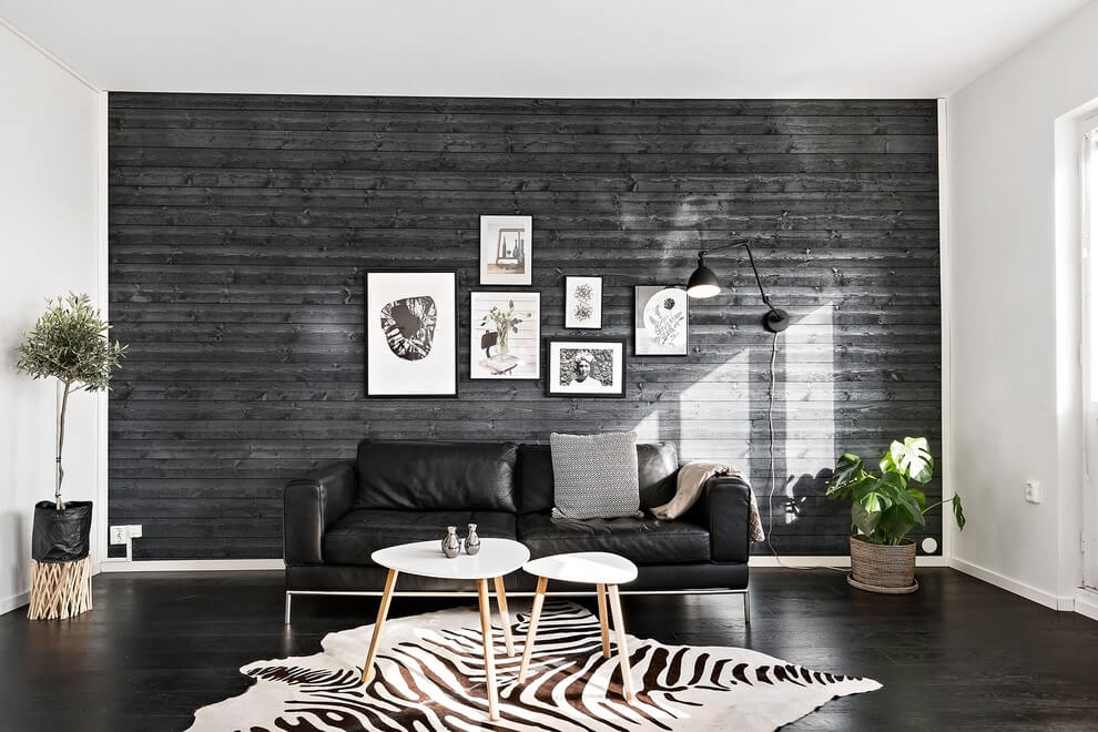 black sofa living room ideas