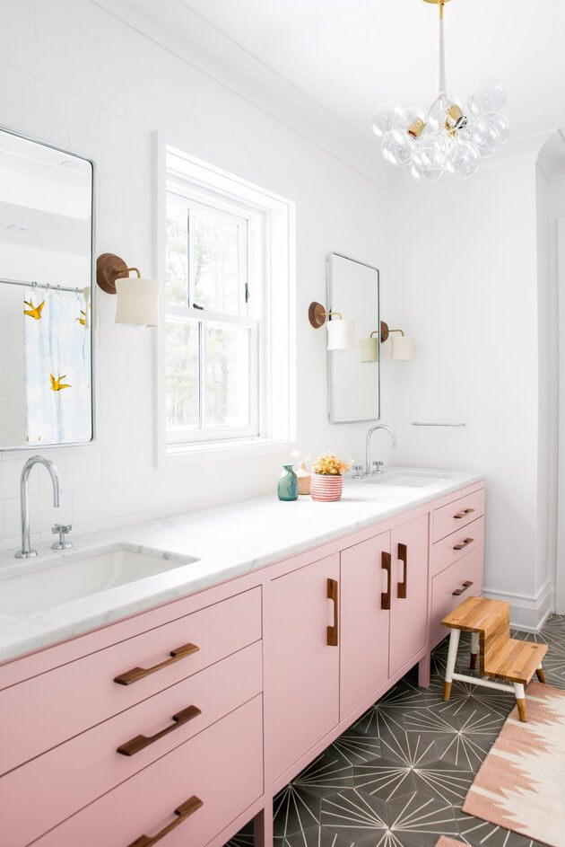 cute girl bathroom ideas